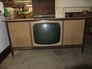 T.V. Desk Before