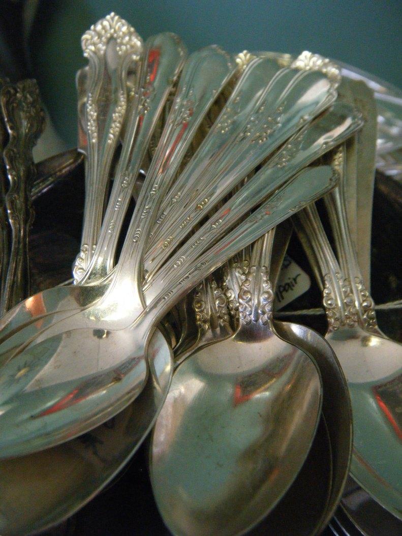 Vintage Silver Plate Flatware