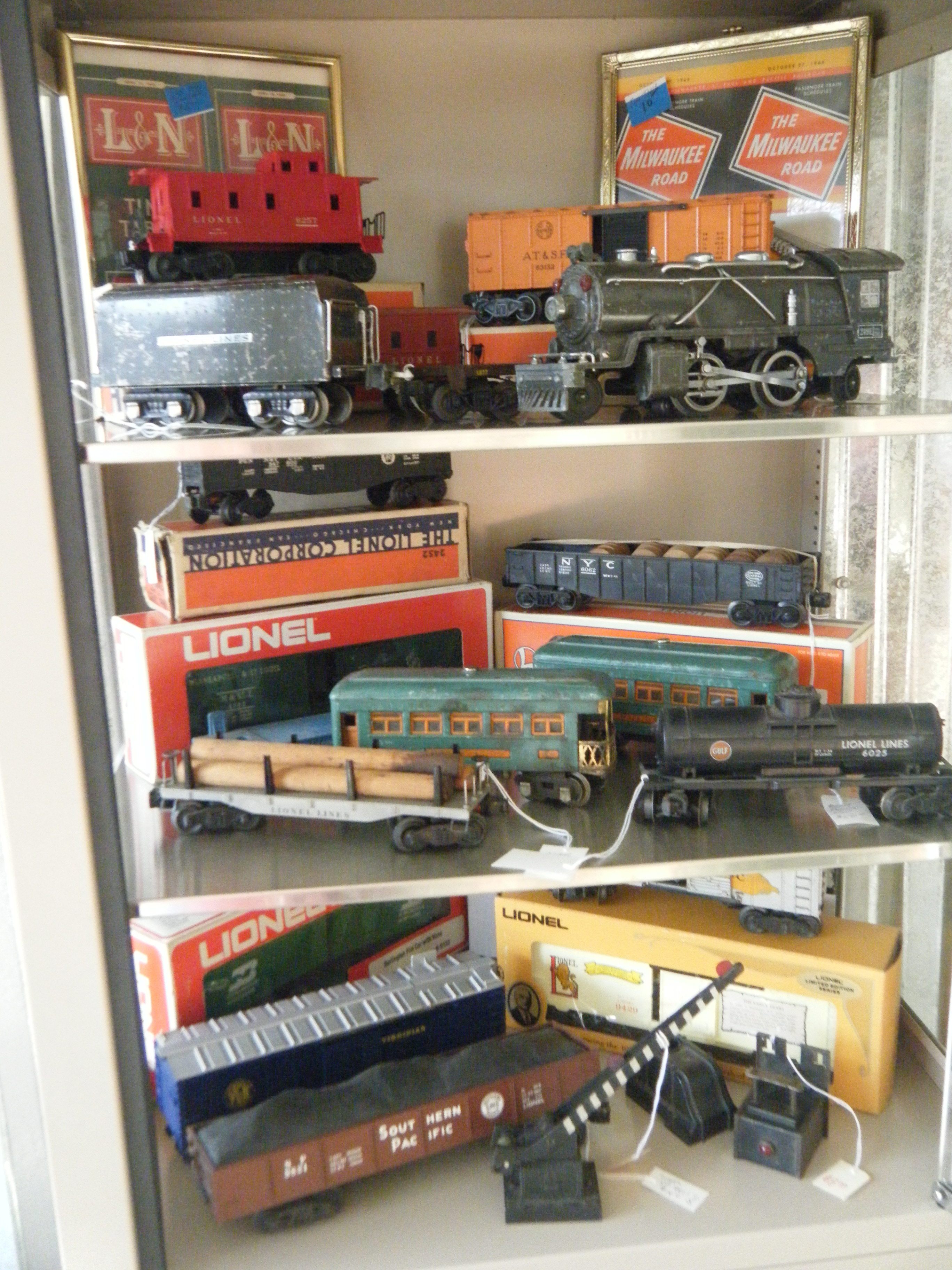 prices of old lionel trains video search engine at