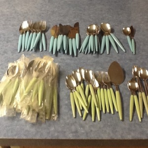 retro randy flatware