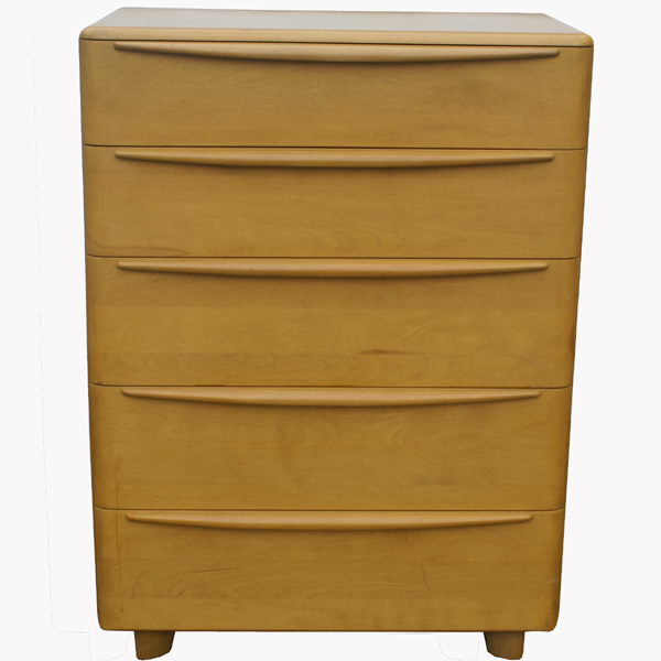 Example of a Heywood Wakefield Encore Chest of Drawers in Wheat Finish