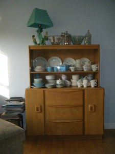 Heywood Wakefield China Hutch