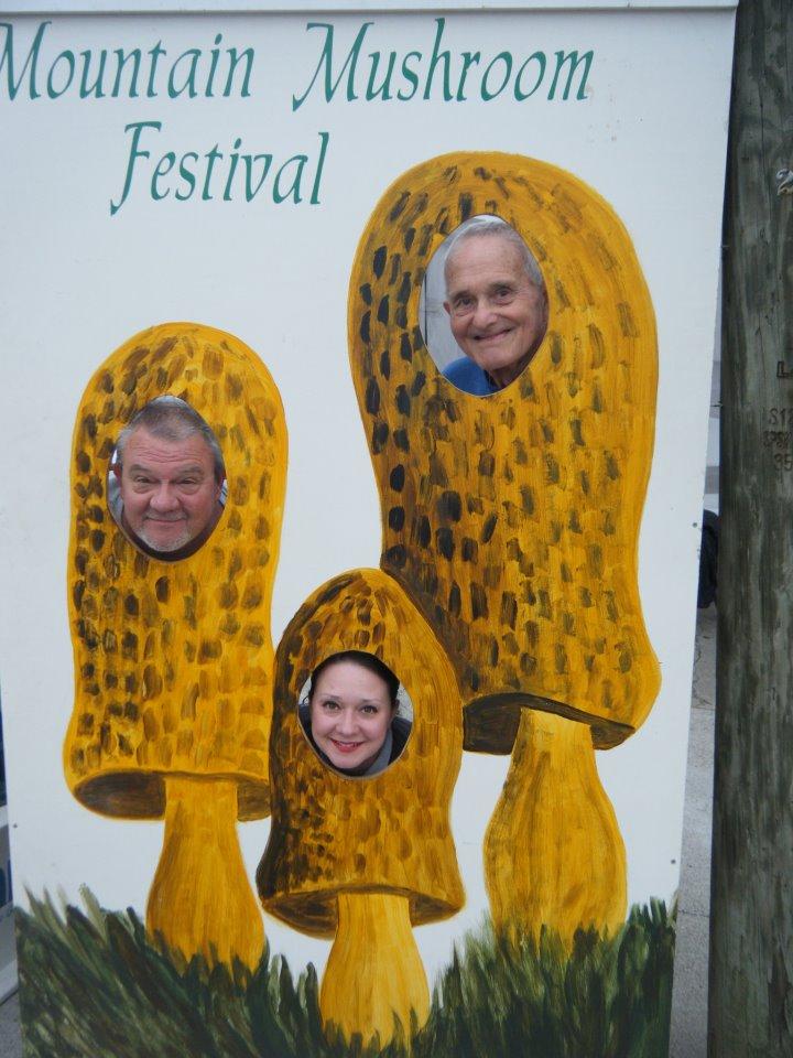 Three Generations of Shroom Heads