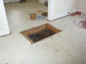 Floor Furnace Removal